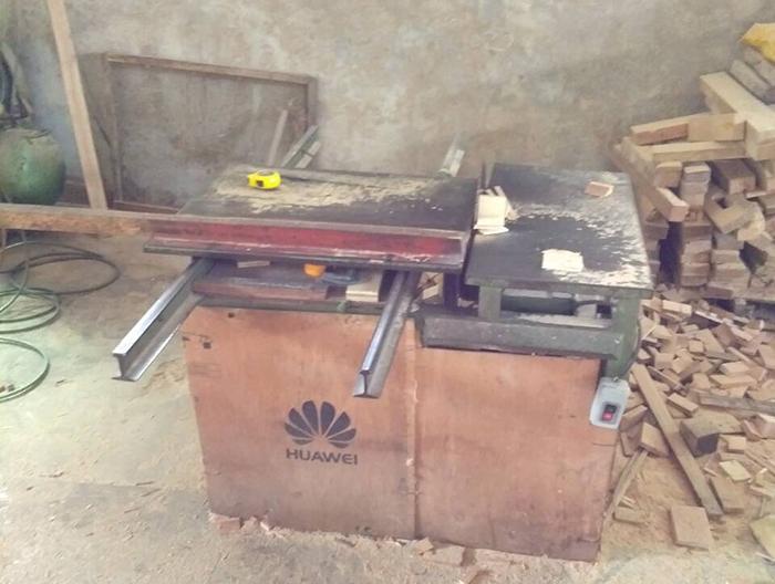 木工自动齐头机